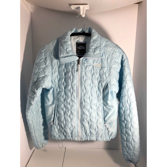 The North Face Jackets & Blazers - The North Face Baby Blue Lightweight Quilted Jkt